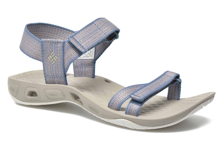 Zapatillas de deporte Columbia Sunbreeze Vent Avalon Azul vista de detalle / par