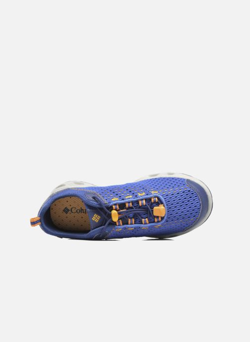 Sport shoes Columbia Youth Drainmaker III Blue view from the left
