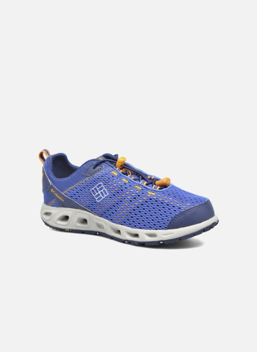 Sport shoes Columbia Youth Drainmaker III Blue detailed view/ Pair view