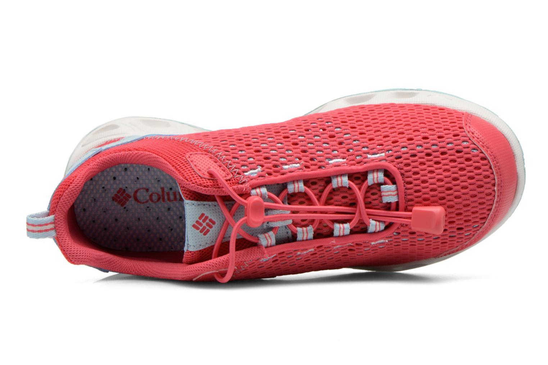Chaussures de sport Columbia Youth Drainmaker III Rose vue gauche