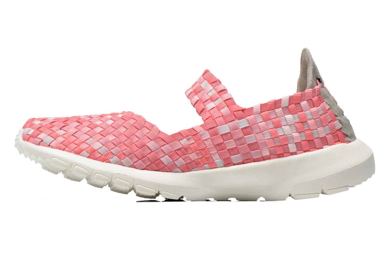 Sneakers DUDE E-last Tessa Pink se forfra