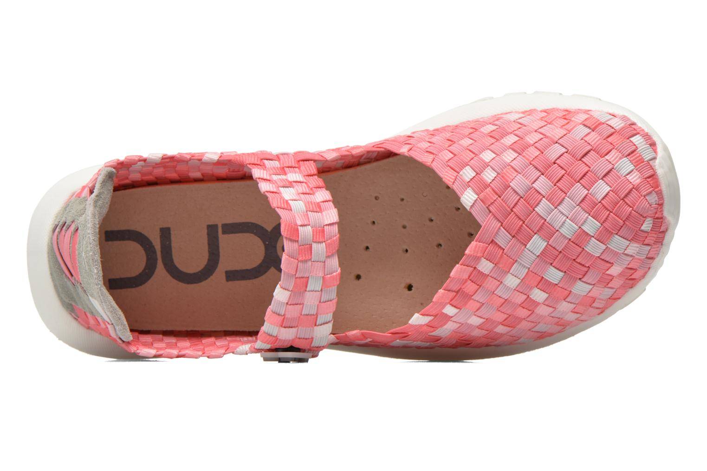 Sneakers DUDE E-last Tessa Pink se fra venstre
