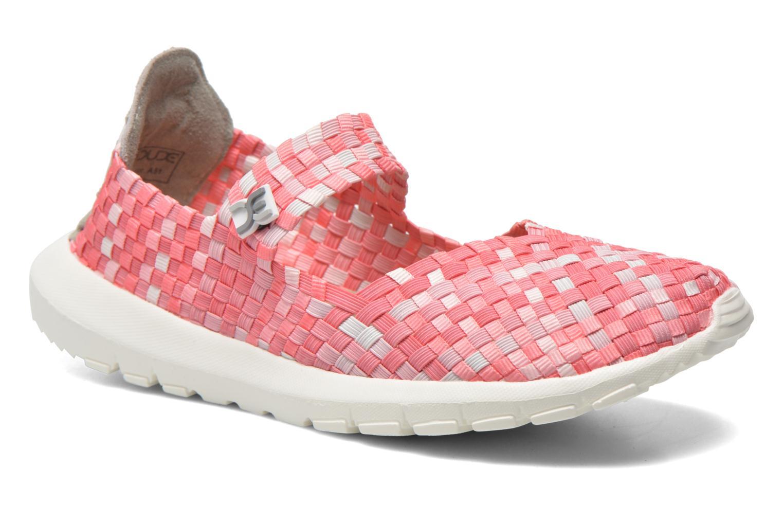 Sneakers DUDE E-last Tessa Pink detaljeret billede af skoene