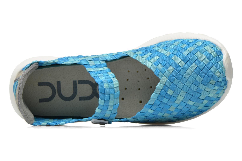 Sneakers DUDE E-last Tessa Blå se fra venstre