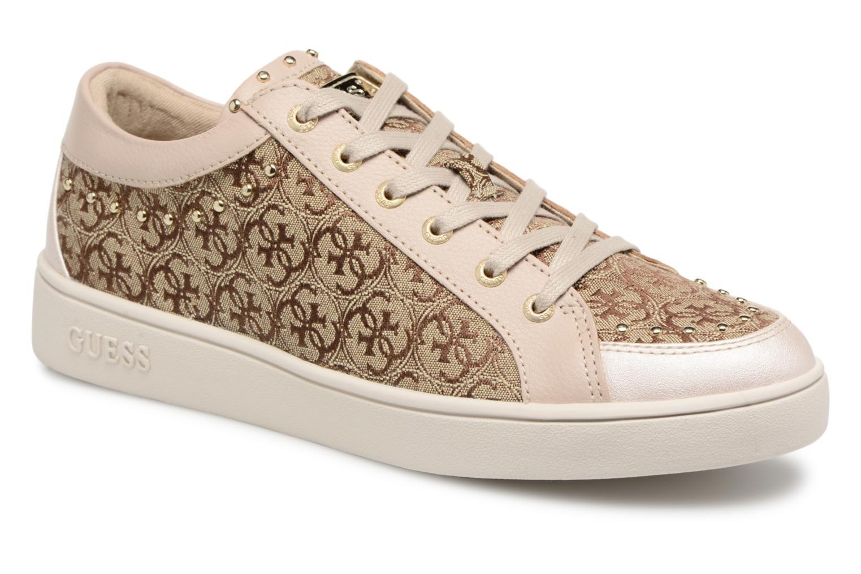 Sneaker Guess Glinna beige detaillierte ansicht/modell