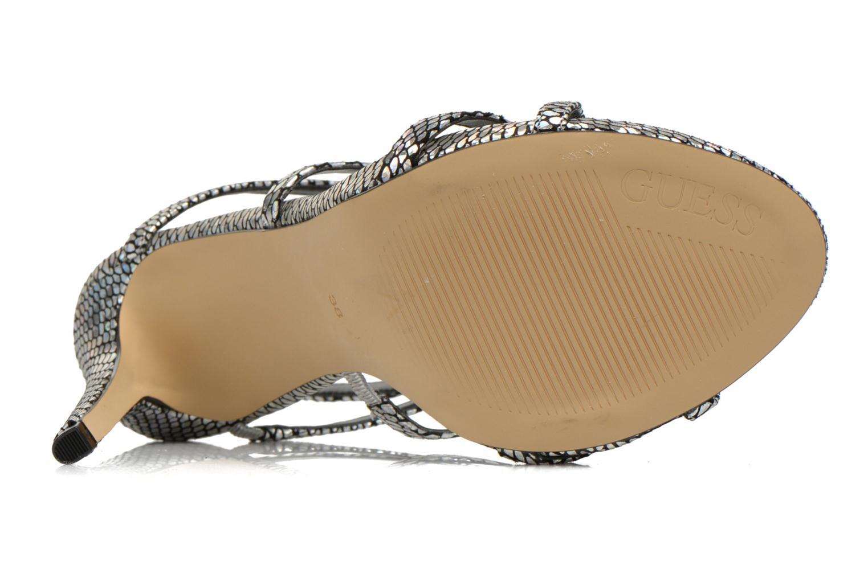 Sandales et nu-pieds Guess Adalee Noir vue haut