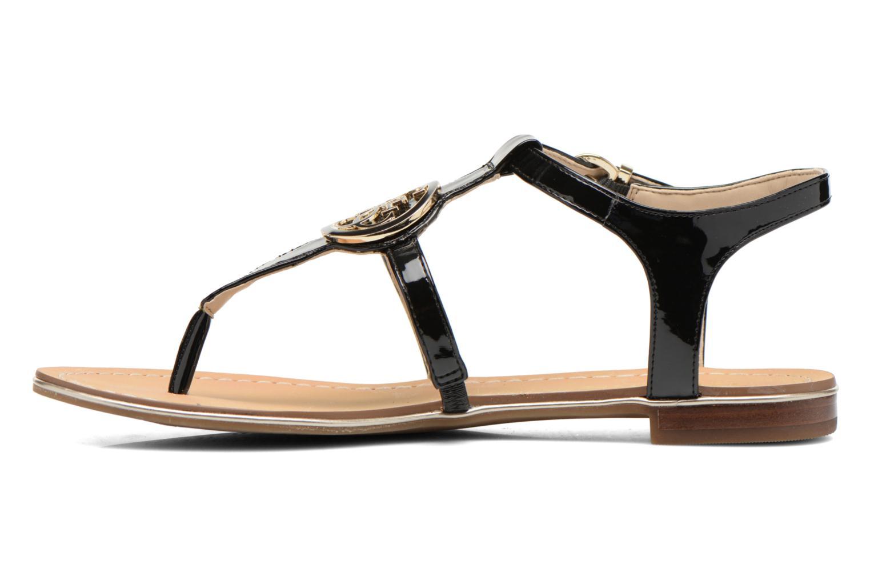 Sandales et nu-pieds Guess Roxxie Noir vue face