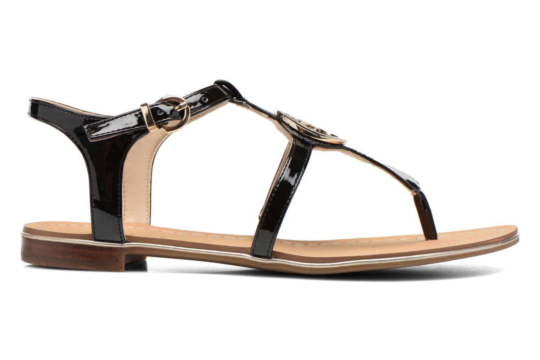 Sandales et nu-pieds Guess Roxxie Noir vue derrière