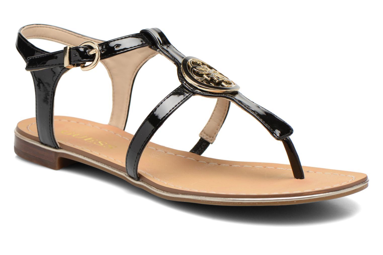Sandales et nu-pieds Guess Roxxie Noir vue détail/paire