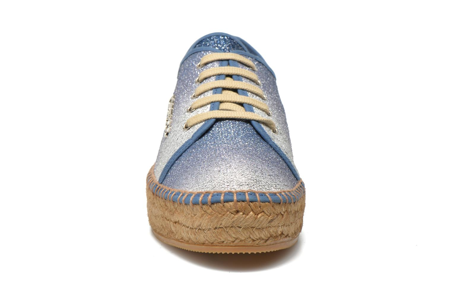Trainers Guess Renan Blue model view