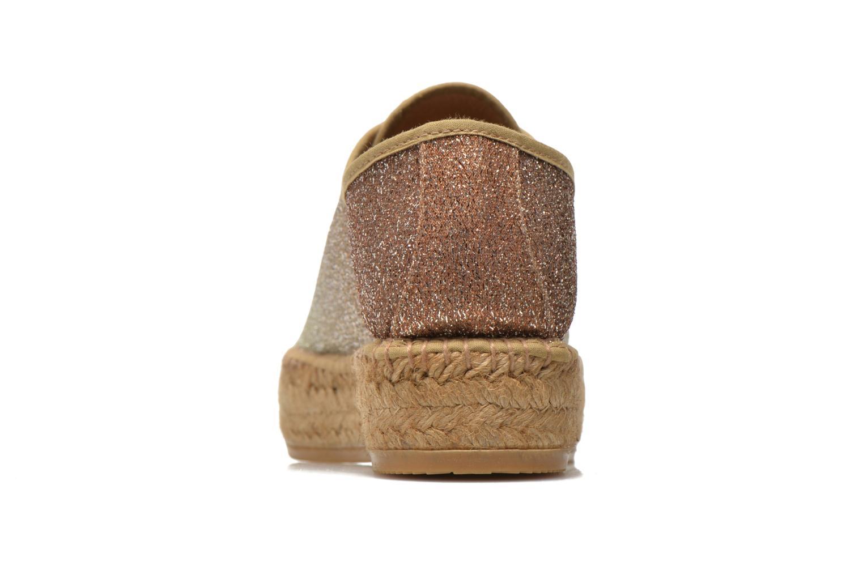 Sneakers Guess Renan Marrone immagine destra