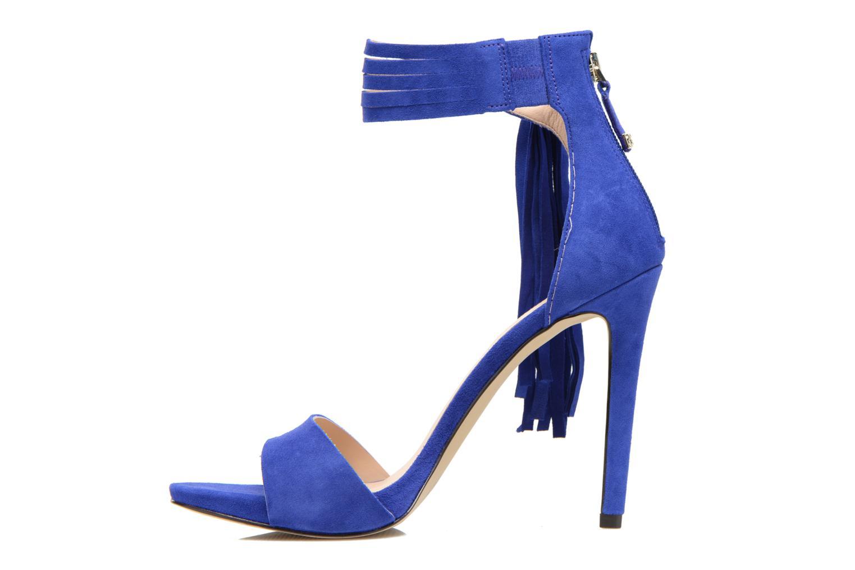 Sandales et nu-pieds Guess Aida Bleu vue face