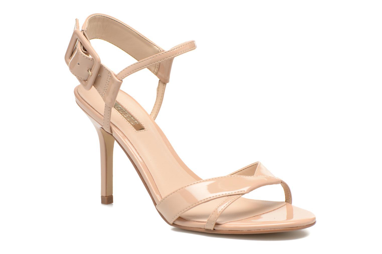 Sandales et nu-pieds Guess Deetra Beige vue détail/paire
