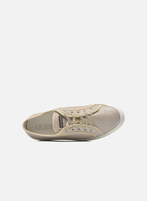 Sneaker Guess Branka gold/bronze ansicht von links