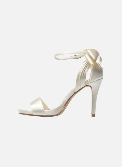 Sandals Menbur Ana Maria White front view