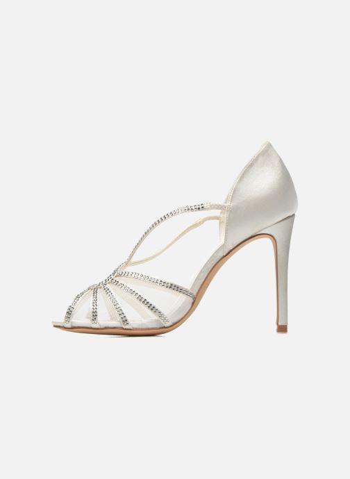 Sandals Menbur Maribel White front view