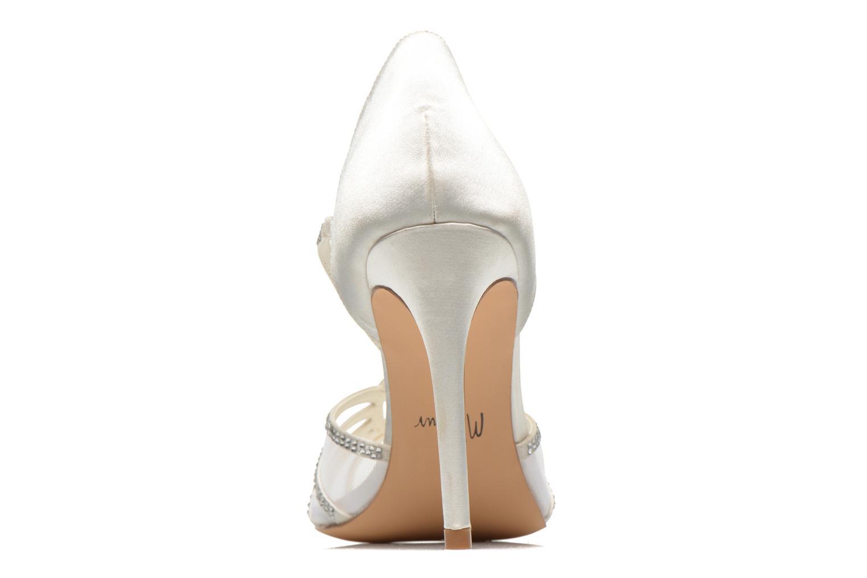 Sandales et nu-pieds Menbur Maribel Blanc vue droite