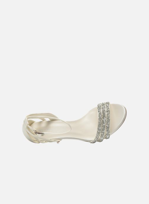 Sandals Menbur Angustina White view from the left