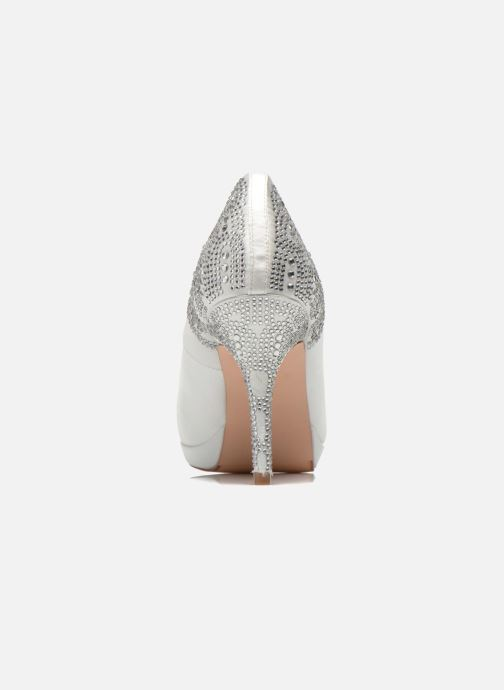High heels Menbur Zulema White view from the right