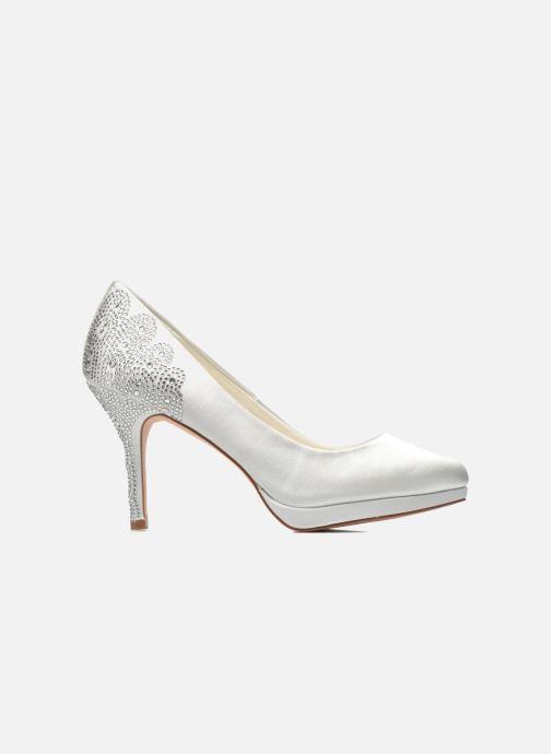 High heels Menbur Zulema White back view