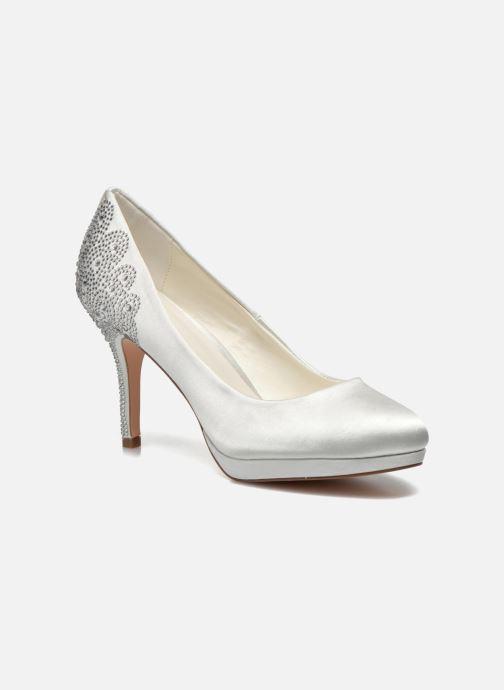 High heels Menbur Zulema White detailed view/ Pair view