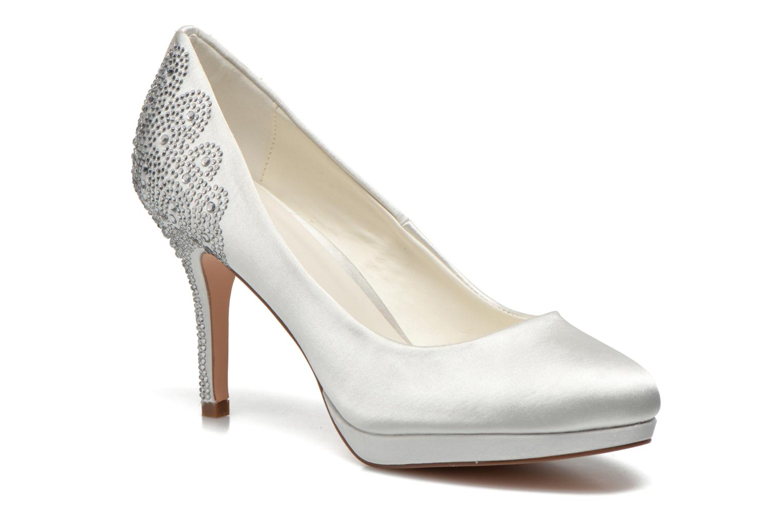 High heels Menbur Zulema White detailed view/ Pair view