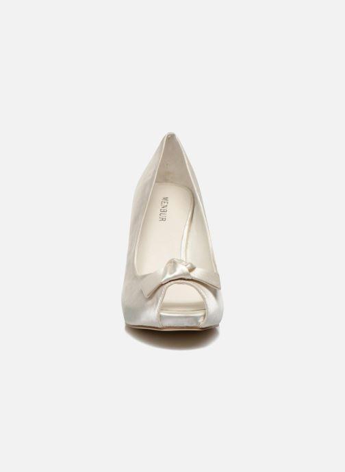 Escarpins Menbur Luz Blanc vue portées chaussures