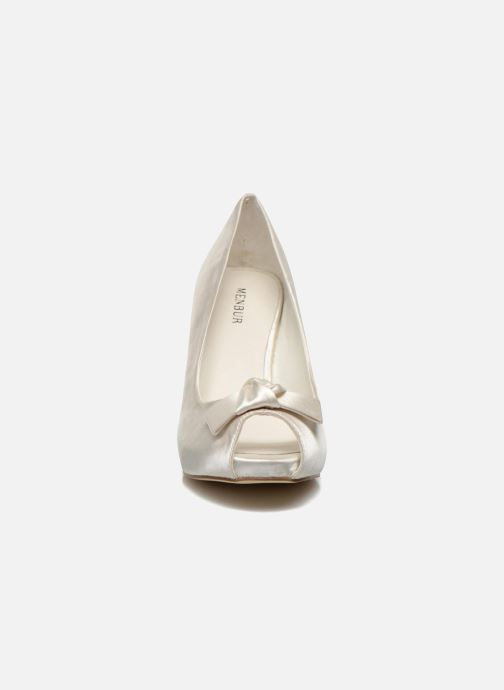 Zapatos de tacón Menbur Luz Blanco vista del modelo