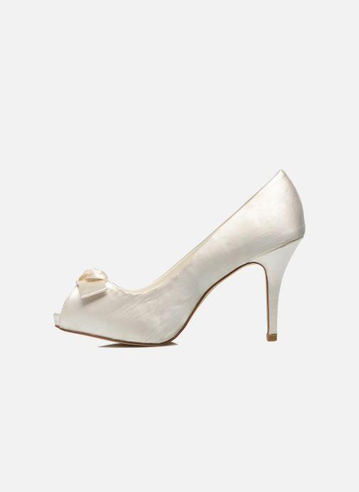 Zapatos de tacón Menbur Luz Blanco vista de frente