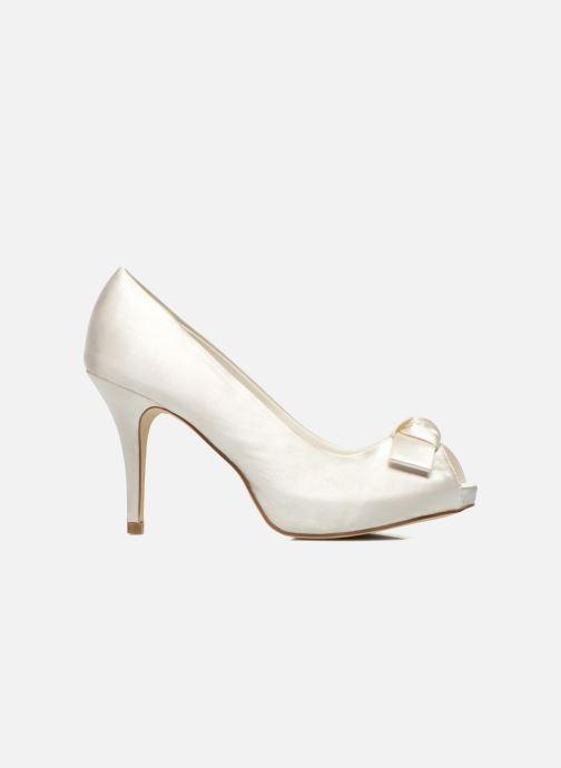 Zapatos de tacón Menbur Luz Blanco vistra trasera