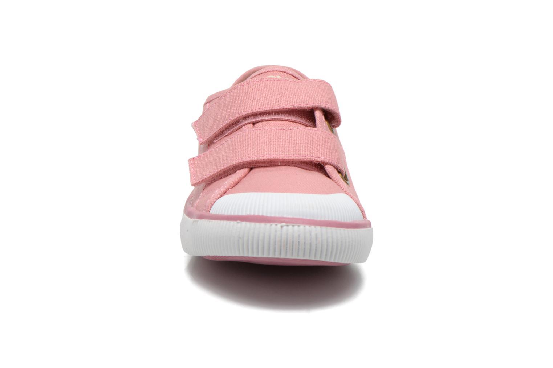 Baskets Levi's Gozilla Rose vue portées chaussures
