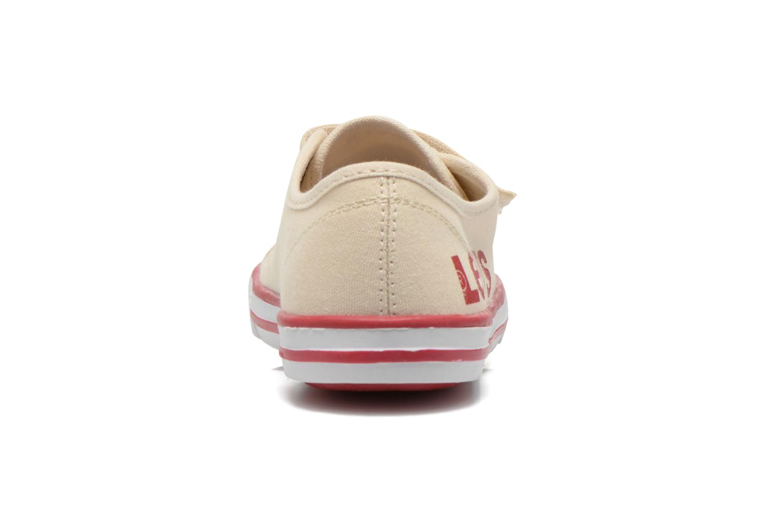 Trainers Levi's Gozilla Beige view from the right