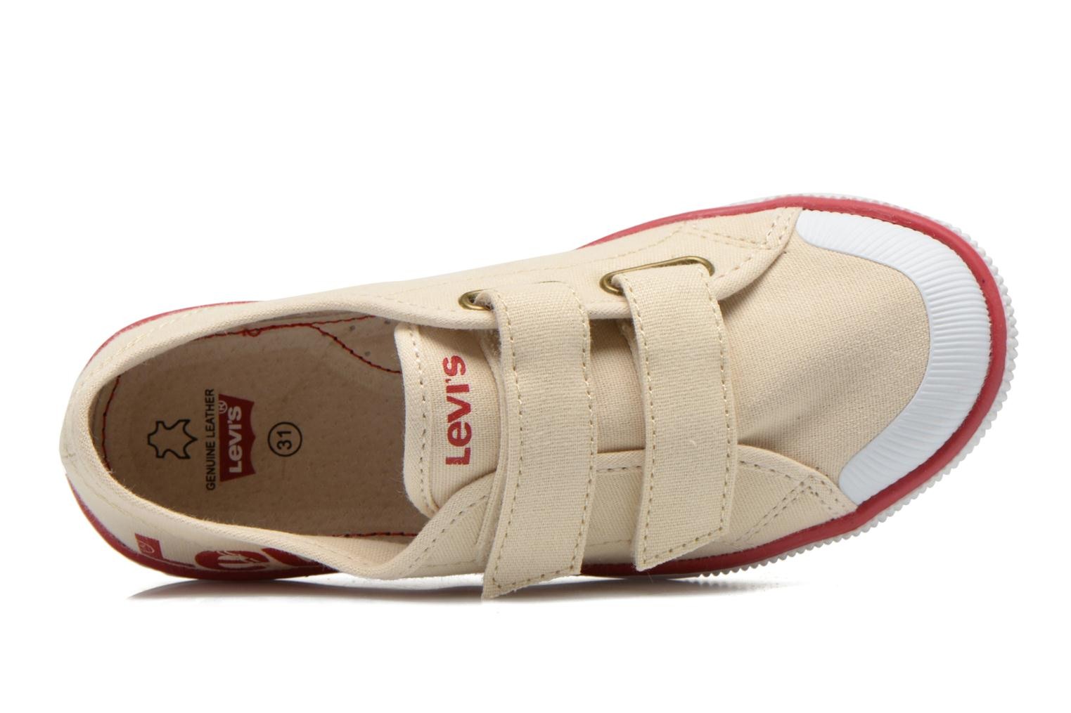 Trainers Levi's Gozilla Beige view from the left