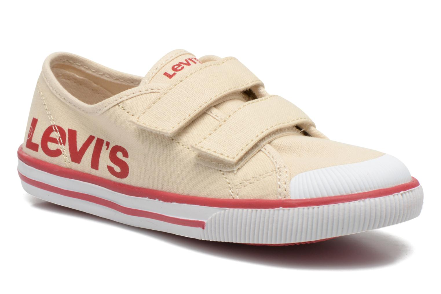 Trainers Levi's Gozilla Beige detailed view/ Pair view