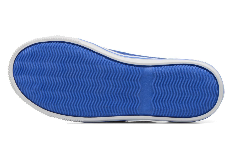 Baskets Levi's Gozilla Bleu vue haut
