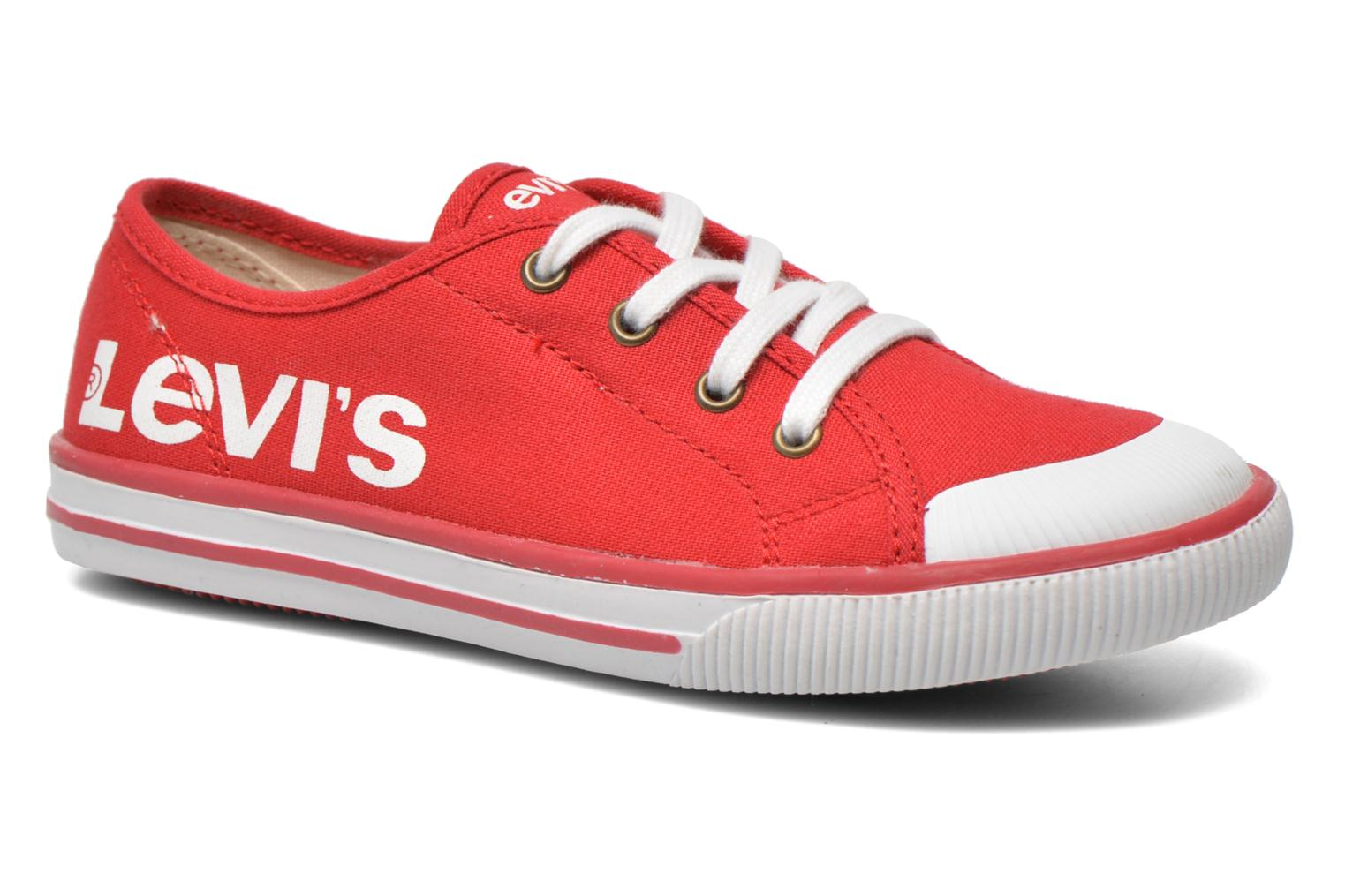 Trainers Levi's Gong Red detailed view/ Pair view