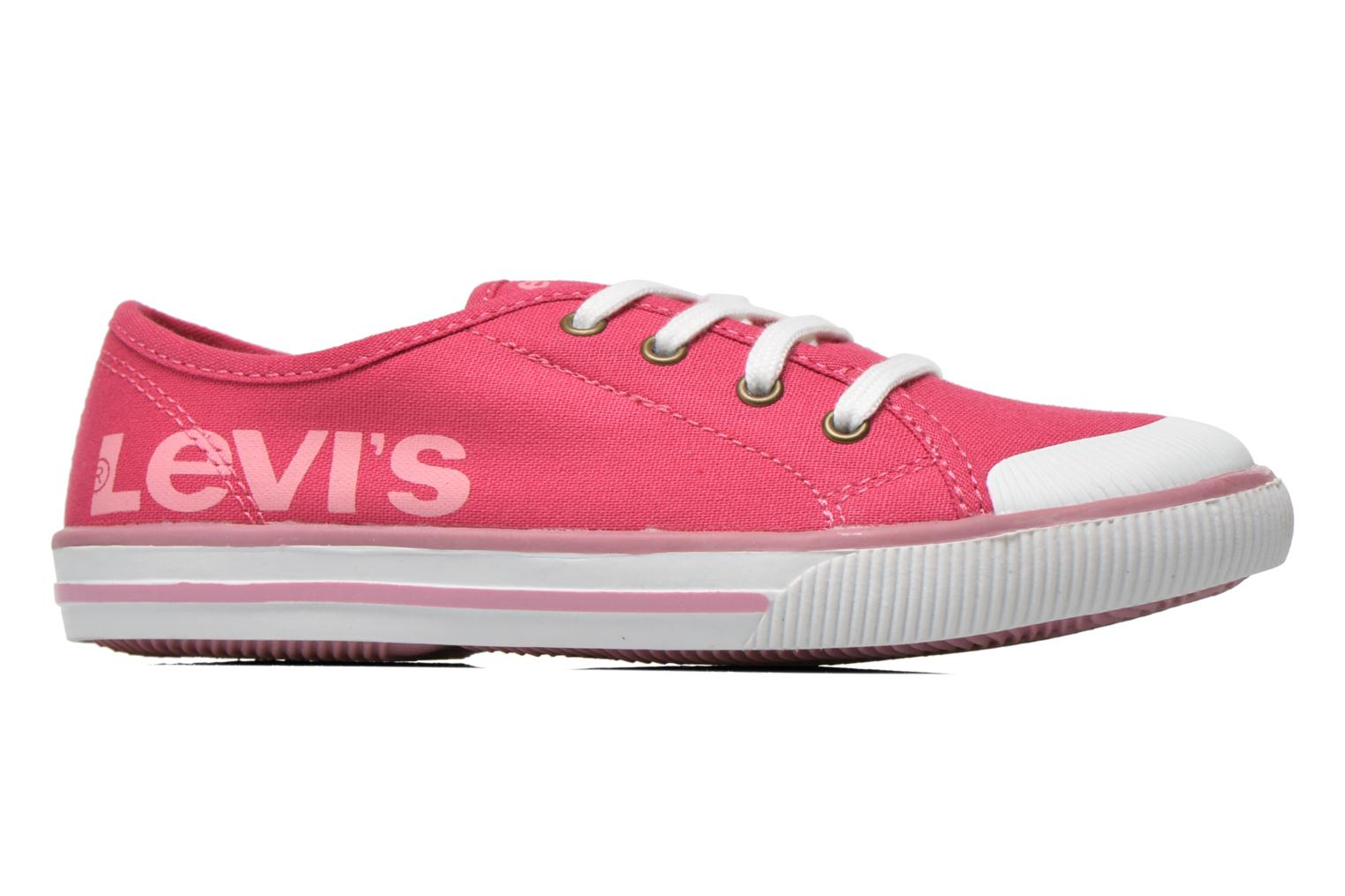 Trainers Levi's Gong Pink back view