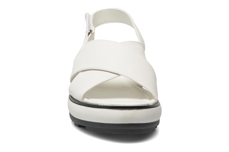Sandales et nu-pieds Sixty Seven Maolky Blanc vue portées chaussures