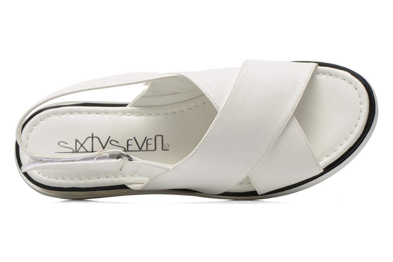 Sandales et nu-pieds Sixty Seven Maolky Blanc vue gauche