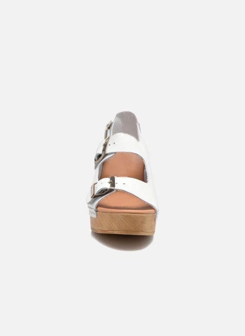 Sandales et nu-pieds Sixty Seven Linaci Blanc vue portées chaussures