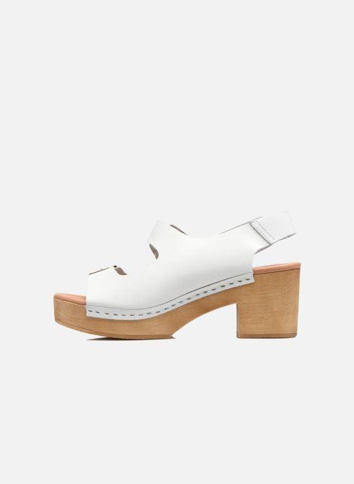 Sandales et nu-pieds Sixty Seven Linaci Blanc vue face