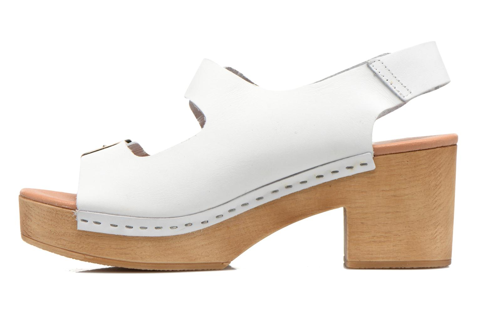 Sandals Sixty Seven Linaci White front view