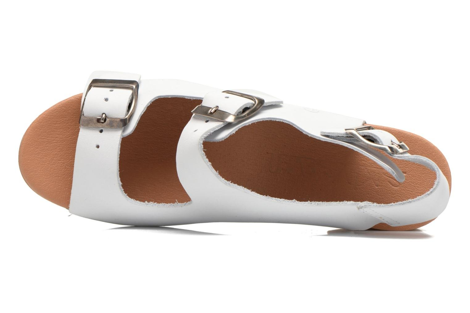 Sandals Sixty Seven Linaci White view from the left
