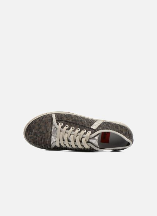 Sneaker Rieker Speed 42417 silber ansicht von links