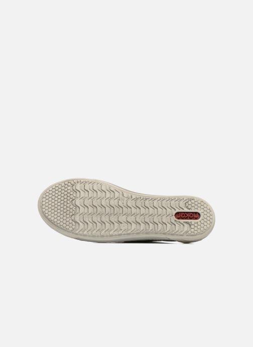 Sneaker Rieker Speed 42417 silber ansicht von oben