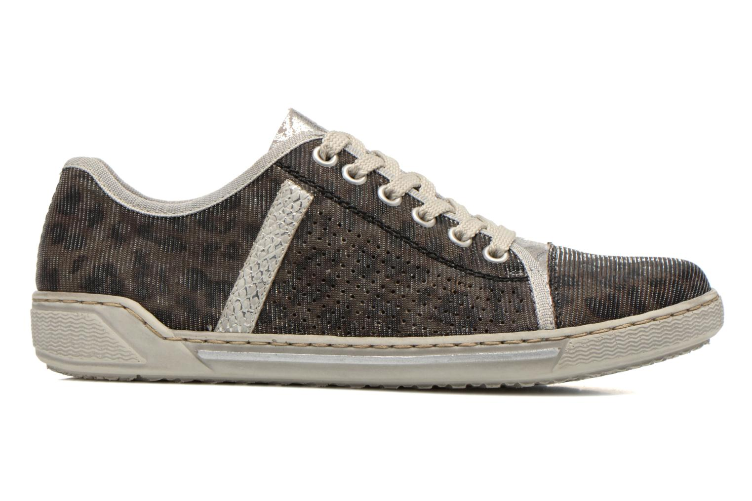 Trainers Rieker Speed 42417 Silver back view