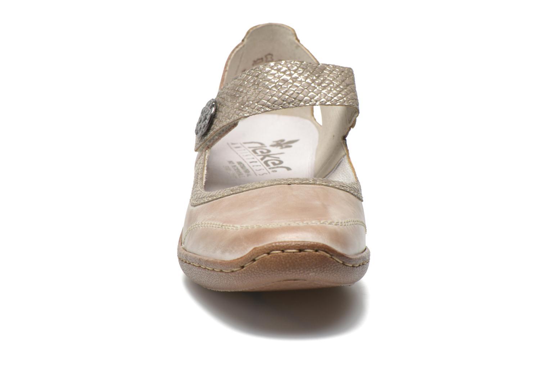 Escarpins Rieker Princess 48398 Gris vue portées chaussures