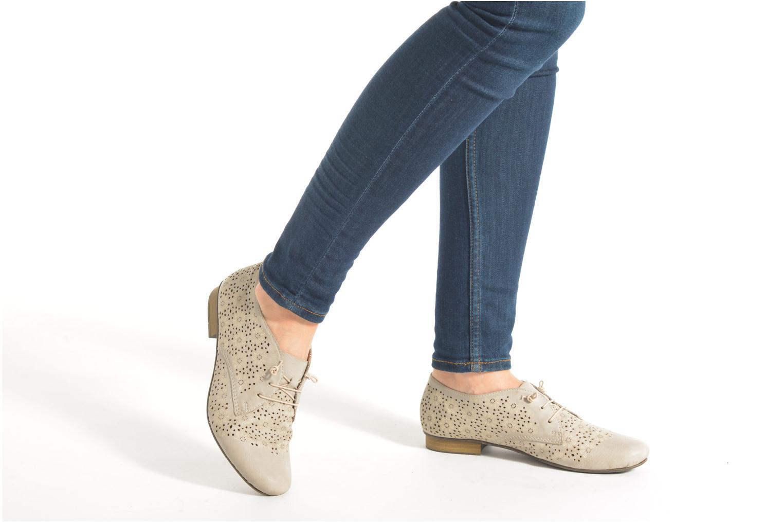 Chaussures à lacets Rieker Henry 51946 Beige vue bas / vue portée sac