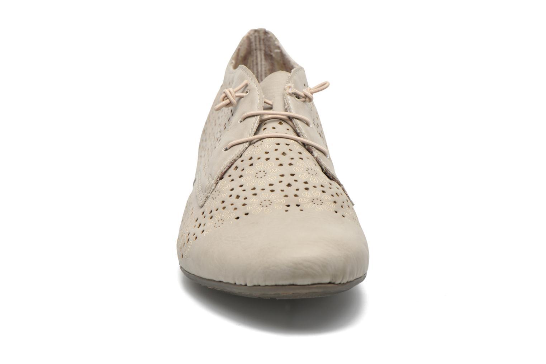 Chaussures à lacets Rieker Henry 51946 Beige vue portées chaussures