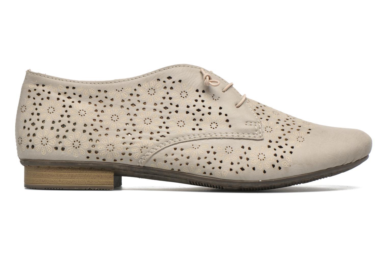 Chaussures à lacets Rieker Henry 51946 Beige vue derrière